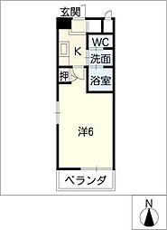 アネックス3[3階]の間取り