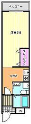 パークメゾン一刻館[4階]の間取り