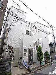 東京都荒川区西日暮里6丁目の賃貸アパートの外観