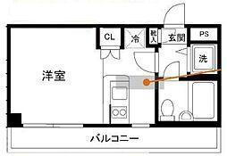 神奈川県綾瀬市大上6丁目の賃貸マンションの間取り