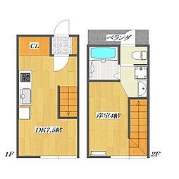 Calico-House 1[117号室]の間取り