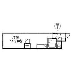 北海道札幌市豊平区平岸四条6丁目の賃貸マンションの間取り