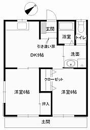 アルスK&T−1[1階]の間取り