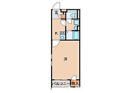 クレイノフェリオ高野口[1階]の間取り