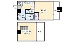 ファーストコート五条新町[802号室号室]の間取り