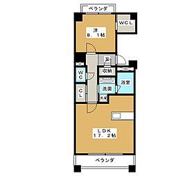 プライムメゾン東桜[2階]の間取り