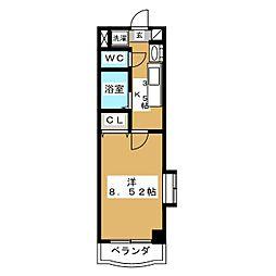 カリンマンション[1階]の間取り
