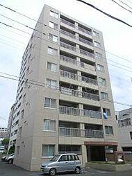 北海道札幌市中央区北二条西20丁目の賃貸マンションの外観
