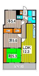 第8昭栄マンション[9階]の間取り