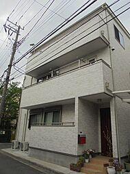 神奈川県川崎市中原区木月4丁目の賃貸アパートの外観