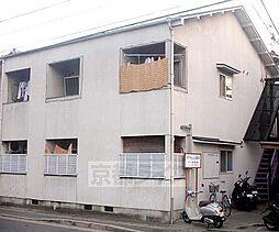 京都府京都市北区上賀茂朝露ケ原町の賃貸アパートの外観