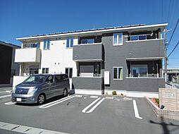 静岡県浜松市南区飯田町の賃貸アパートの外観