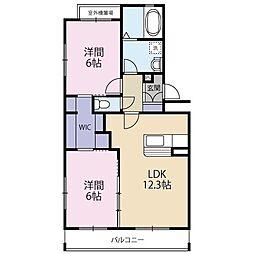 La Grande Maison 2[3階]の間取り