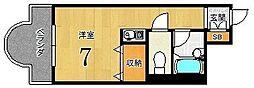 リヴァク鴨川[208号室]の間取り