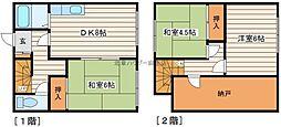 [テラスハウス] 北海道札幌市北区新琴似三条7丁目 の賃貸【北海道 / 札幌市北区】の間取り