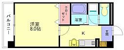 レークセンターガーデンU[5階]の間取り