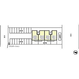 オッツ空港西[103号室]の外観