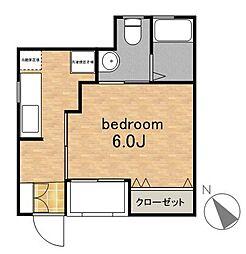 Hana House[1階]の間取り