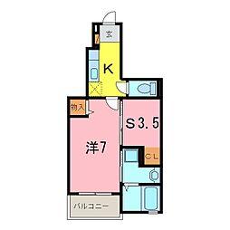 仮)伏見町アパート[102号室]の間取り