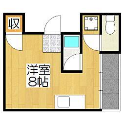 コットンハウス11[201号室]の間取り