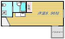 ラビアン小岩[1階]の間取り