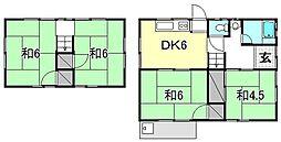 [一戸建] 愛媛県松山市西石井5丁目 の賃貸【愛媛県 / 松山市】の間取り