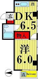 松岡コーポ2[201号室]の間取り