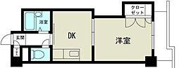 新大阪グランドハイツ北[4階]の間取り