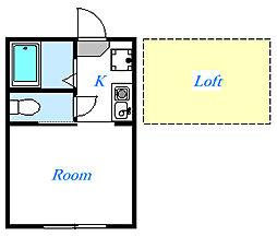 ブルーレジデンス蕨[1階]の間取り
