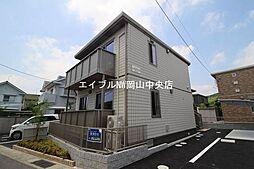 岡山県岡山市中区福泊丁目なしの賃貸アパートの外観