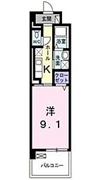 エルハーベン山城[1階]の間取り