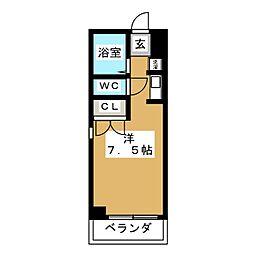 新栄ロイヤルビル[4階]の間取り