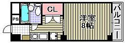 アビヨンKAB1[903号室]の間取り