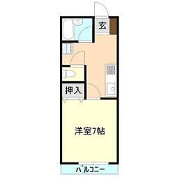 エクセル華[2階]の間取り