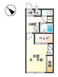 滝ノ水[1階]の間取り