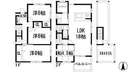 [一戸建] 兵庫県宝塚市川面3丁目 の賃貸【/】の間取り