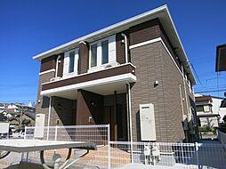 愛知県岡崎市明大寺町字沖折戸の賃貸アパートの外観