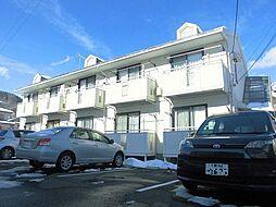 長野県長野市箱清水2丁目の賃貸アパートの外観