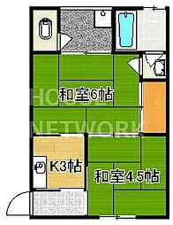 寿荘[207号室号室]の間取り