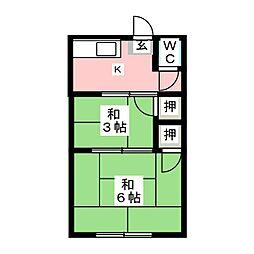 本陣駅 3.7万円