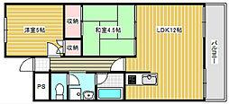 グランドメゾンテル[3階]の間取り