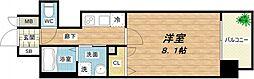 プレサンス堺筋本町駅前[2階]の間取り