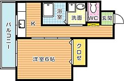 小文字ビル[5階]の間取り