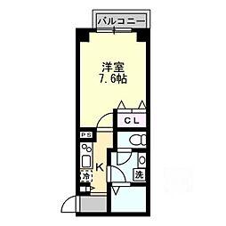 レヴィア[1階]の間取り