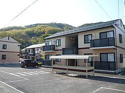 長野県長野市大字安茂里西河原の賃貸アパートの外観