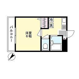 ショコラ2[2階]の間取り