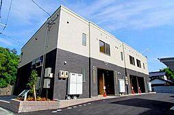 広島県広島市安佐南区上安3丁目の賃貸アパートの外観