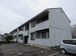 シャトレ岡田A.B棟[1階]の外観