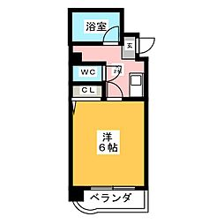 VIVIAN尾頭橋[4階]の間取り