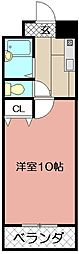 ウインズ浅香I[406号室]の間取り